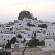 Amorgos: Blick auf Chora