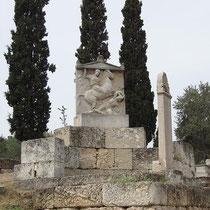 Reiterrelief auf dem Grab des Dexileos