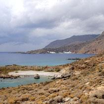 Kreta: Strand von Agios Stavros