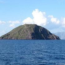 Strongyli, der Vulkankegel