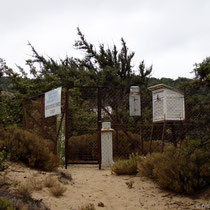 Gavdos: Die Wetterstation in Sarakiniko