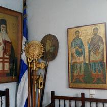 In der Kapelle der Agii Akindini