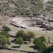 Und das antike Theater (nein, kein Amphitheater!)