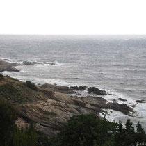 Graue Küste