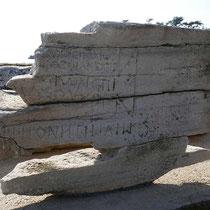 Inschrift für Kopfsteher