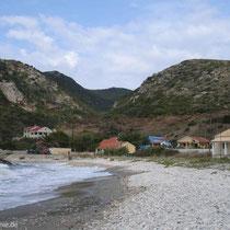 Am Strand von Ammos