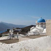 Die Hauptkirche in Tholaria, Agii Anargiri