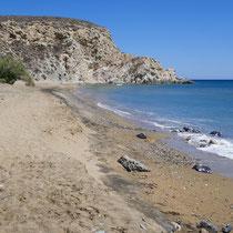 Der Klissidi-Strand