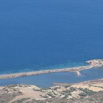 Die Lagune von Rivari