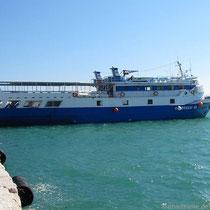 """Unser Schiff, die """"Oinoussai III"""""""