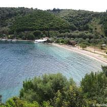 Der Strand von Spilia