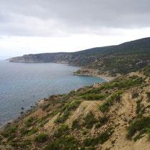 Gavdos: Die Ostküste bei Korfos