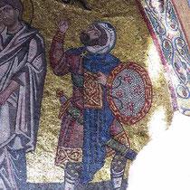 Detail aus der Kreuzigung - Longinus