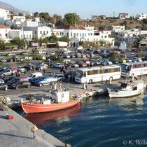 Andros: Zwischenstopp in Gavrio