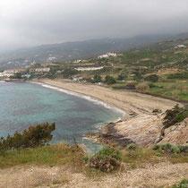 Der Livadi-Strand