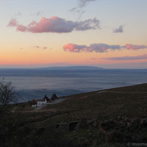 Sonnenaufgang in Komitades: Panagia Thymiani und Gavdos