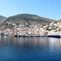Hydra - der mittlere Hafen