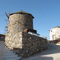 Windmühlen auf dem Kamm
