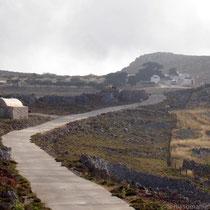 Chalki: Zum Kloster Agios Ioannis