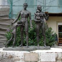 Denkmal für Korfus ermordete Juden