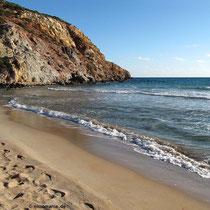 Der Strand von Provatas
