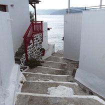 Treppen gibt es hier auch