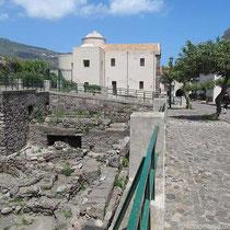 Ausgrabungen in der Burg, Santa Caterina