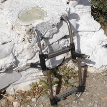 Folegandros: Aufstiegshilfe