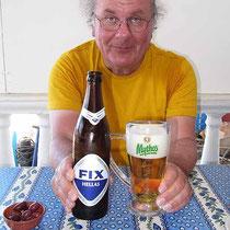 Hauptsache griechisches Bier!