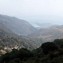 Kap Stavros zwischen Azalas und Moutsouna