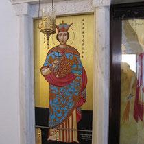 Die Ikone der Agia Ekaterini
