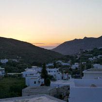 Ein Hauch Sonnenuntergang