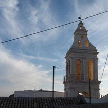 Kirchturm in Chora
