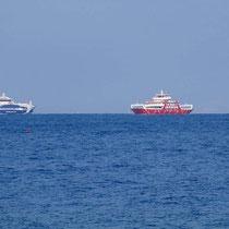 .. mit Fähren