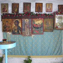 In Höhlenkapelle Agios Nikolaos
