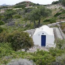Agios Georgios am Pistenrand