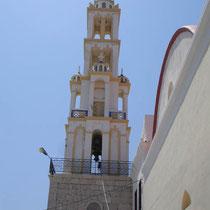 Chalki: Kirchturm