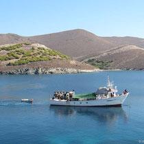 Das Fischerboot geht