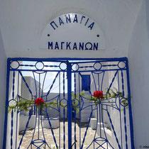 Tor zur Panagia Manganon