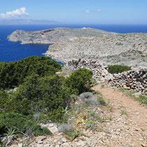 Das Nordkap von Sifnos