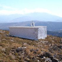 Andros: Kapelle bei Kloster Sotiros