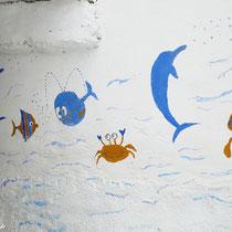 Maritime Wandmalerei
