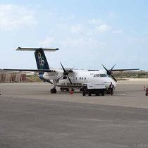 Unser Flieger nach Karpathos