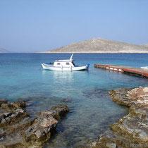 Chalki: beim Ftenagia-Strand