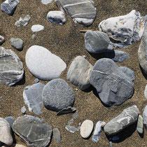 Schöne Steine hat es auch