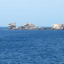 Steinschiff westlich von Sikinos