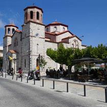 Die Hauptkirche in Kymi