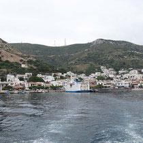 Fourni - der Hafen