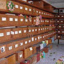 Karpathos: Beinhaus auf dem Friedhof von Olymbos
