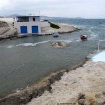 Fjord bei Agios Konstantinos